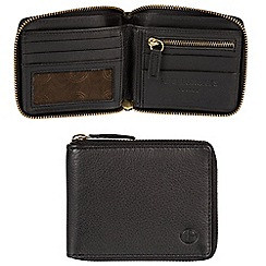 Pure Luxuries London - Black 'Dawley' leather zip-around RFID Wallet  Classic Collection