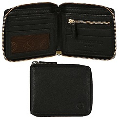 Pure Luxuries London - Black 'Dawley' leather wallet - Deluxe Collection