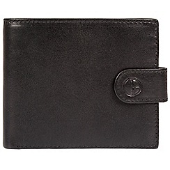 Pure Luxuries London - Black 'Berkley' fine leather RFID wallet