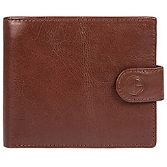 Pure Luxuries London - Brown 'Monument' fine cowhide leather RFID wallet