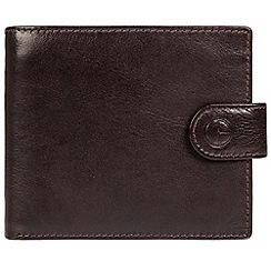Pure Luxuries London - Dark Brown 'Monument' fine cowhide leather RFID wallet