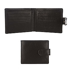 Pure Luxuries London - Black 'Bertrand' finest natural leather wallet