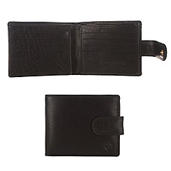 Pure Luxuries London - Black 'Abbot' finest natural leather wallet