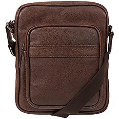 Portobello W11 - Walnut 'Erikkson' buffalo leather dispatch bag