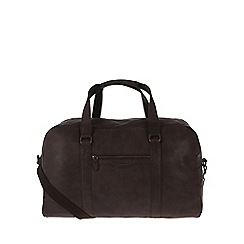 Portobello W11 - Hickory 'Cortez' rugged leather holdall
