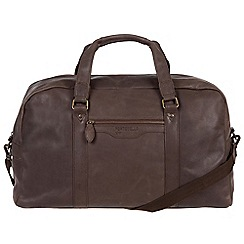 Portobello W11 - Hickory 'Armstrong' buffalo leather holdall