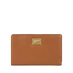 Portobello W11 - Brown 'Angie' RFID 9-card leather purse