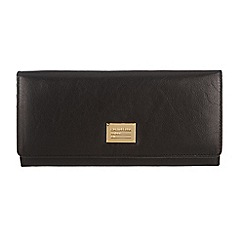 Portobello W11 - Black 'Elizabeth' leather purse