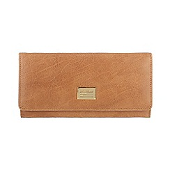 Portobello W11 - Tan 'Elizabeth' leather purse