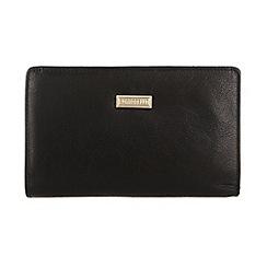 Portobello W11 - Black 'Julie' leather purse