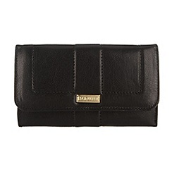 Portobello W11 - Black 'Lisa' leather purse