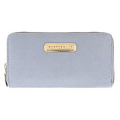 Portobello W11 - Bluebell 'Christina' Saffiano real leather purse