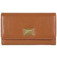 Portobello W11 - Brown 'Leyla' RFID 8-card leather purse