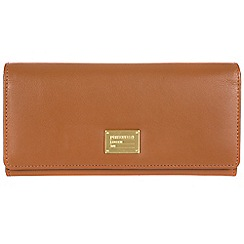 Portobello W11 - Brown 'Elecktra' RFID 14-card leather purse