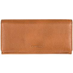 Portobello W11 - Cognac 'Elecktra' soft cowhide RFID purse