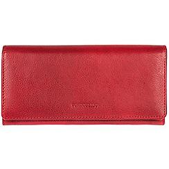 Portobello W11 - Red 'Elecktra' soft cowhide RFID purse