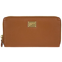 Portobello W11 - Brown 'Meagan' RFID 8-card leather purse