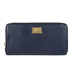 Portobello W11 - Navy 'Meagan' RFID 8-card leather purse