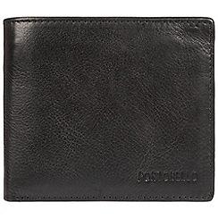 Portobello W11 - Black 'Ruben' fine cowhide RFID wallet