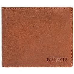 Portobello W11 - Tan 'Ruben' fine cowhide RFID wallet
