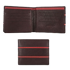 Portobello W11 - Dark brown 'Pinny' leather wallet