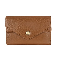Pure Luxuries London - Oak 'Salisbury' natural leather purse