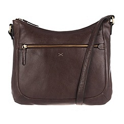 Made by Stitch - Cocoa 'Kay' leather across body bag