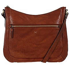 Made by Stitch - Cognac 'Kay' handmade leather bag
