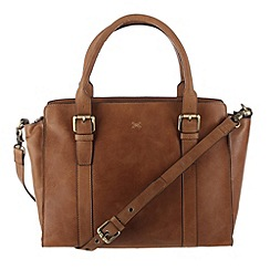 Made by Stitch - Butterscotch 'Amelia' leather hand bag