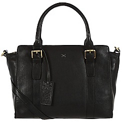Made by Stitch - Liquorice 'Scarlett' handmade leather bag