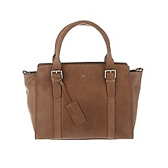 Made by Stitch - Butterscotch 'Scarlett' handmade leather bag