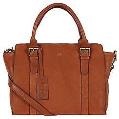 Made by Stitch - Toffee 'Scarlett' handmade leather bag