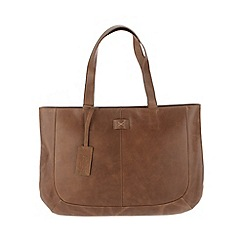 Made by Stitch - Butterscotch 'Fion' handmade leather large bag