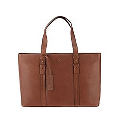 Made by Stitch - Toffee 'Kathryn' handmade leather large handbag