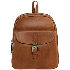 Made by Stitch - Butterscotch 'Olivia' handmade vintage leather mini backpack