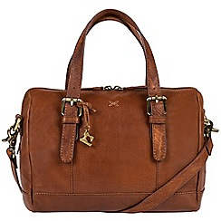 Made by Stitch - Cognac 'Hayley' handcrafted leather bag