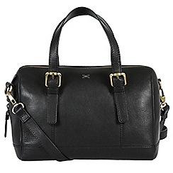 Made by Stitch - Liquorice 'Hayley' handmade leather bag