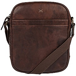 Made by Stitch - Malt 'Cartmel' handmade leather despatch bag