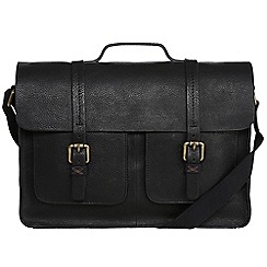 Made by Stitch - Liquorice 'Garsdale' handmade leather satchel
