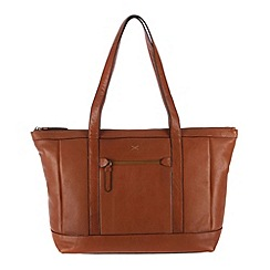 Made by Stitch - Toffee 'Ruby' soft leather shopper bag