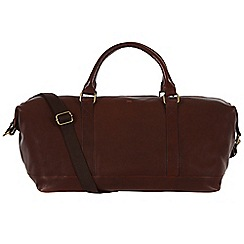 Made by Stitch - Espresso 'Port' handmade leather holdall
