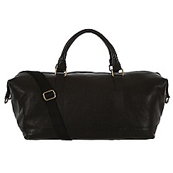 Made by Stitch - Liquorice 'Port' handmade leather holdall