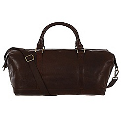 Made by Stitch - Malt 'Port' handmade vintage leather holdall