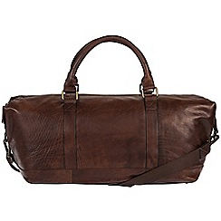 Made by Stitch - Malt 'Port' handmade leather holdall