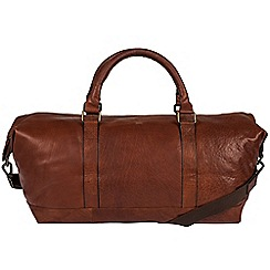 Made by Stitch - Treacle 'Port' handmade leather holdall
