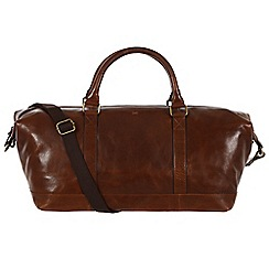 Made by Stitch - Veg-tan 'Port' handmade leather holdall