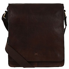Made by Stitch - Malt 'Brampton' handmade leather despatch bag