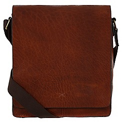 Made by Stitch - Treacle 'Brampton' handmade vintage leather tablet bag