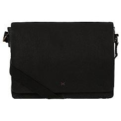 Made by Stitch - Liquorice 'Tom' handmade leather messenger bag