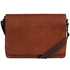 Made by Stitch - Treacle 'Tom' handmade leather laptop messenger bag